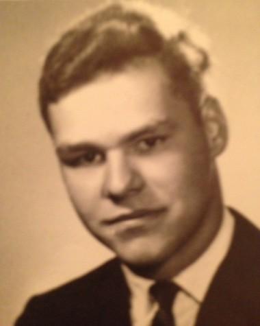 Mr. Weber's senior photo from 1966
