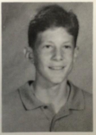 Mr. Farley's freshman yearbook photo (92-93 school year)