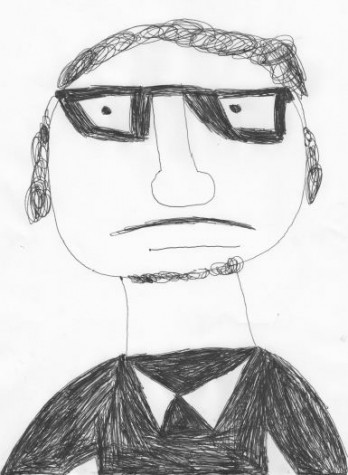 Mark's best guess of what Mr. Ortman looked like in high school