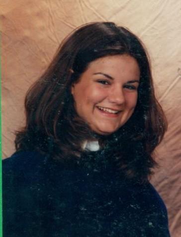 Mrs. Simek's high school photo