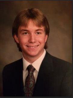 Mr. Loughneys highschool yearbook photo