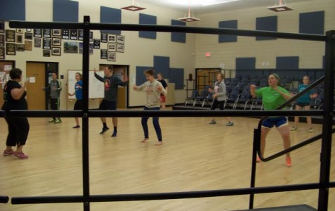Club Zumba heats up