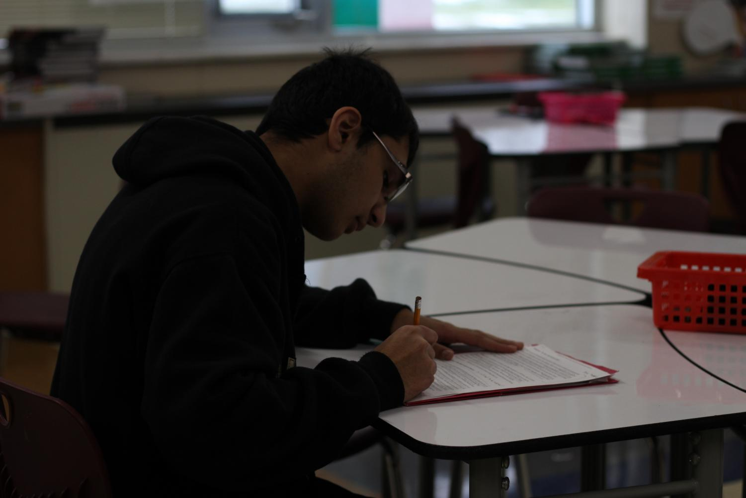 One of Mahmood's favorite subjects is history - his passion is fueled by his upbringing