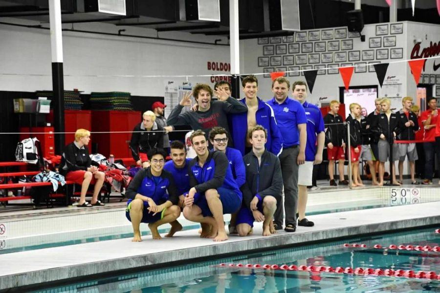 Brookfield Barracudas are defeated by Waukesha South and Catholic Memorial High School